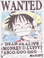 Luffy Forever by bmarvel777