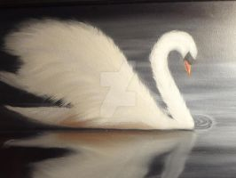 Midnight Swan Lake by Hinkywil429