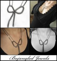 Bound and Tied Necklace by txgirlinaz