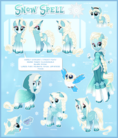 Snow Spell Reference by Potionpony