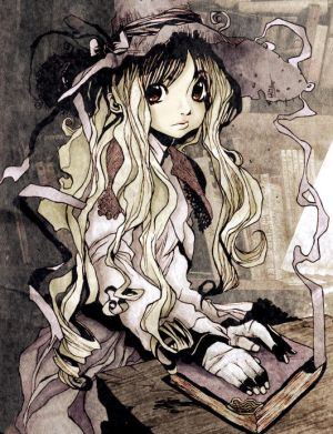 The Studious Grey Witch by KatHart - Cad�Lara AvatarLar :)