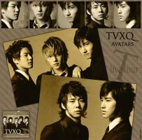 Avatars TVXQ - 3rd Live Tour - by MeyLi27