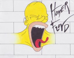 Homer Floyd by Theakker5