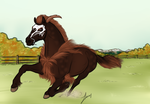 Running Free - YHH SOLD by TimberlakeLaneEC