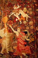 Blur tapestry antique stock by paintresseye