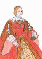 Isabella of Portugal by me by LadyBolena