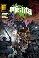 Misfits Issue 3 Cover by Nick-OG