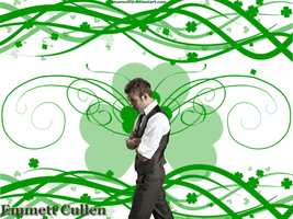 Emmett cullen Irish wallpaperd by Maewolf86
