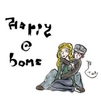 Happy At Home by Kid-Apocalypse