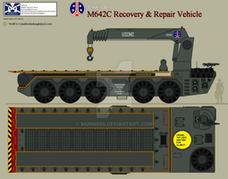 M642C Recovery + Repair Vehicle by Munners