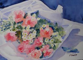 Bouquet of Roses by p-e-a-k