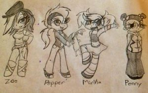 Humanize LPS girls by Miss-Zi-Zi