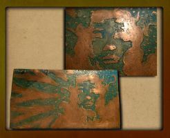 copper etching by OldGill