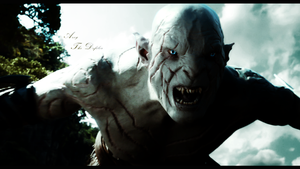 Azog The Defiler Background - The Hobbit by PinguAlex
