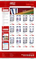 Layout - E-commerce Tom Modas by lcdesigner