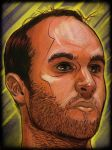 Landon Donovan - iPad Drawing by MaoTseThong