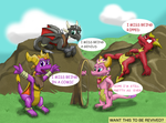 Spyro and Company Returns? by AtomicPhoton