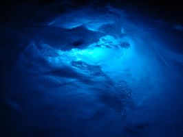 Gushing Blue Water Texture 02 by FantasyStock
