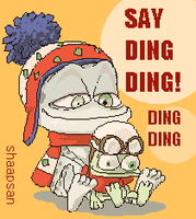Say Ding Ding by shaapsan