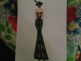 Dress Full View by DwDrawings