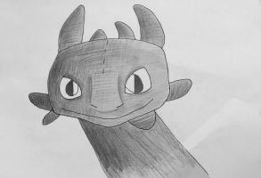 Toothless by dinodude411
