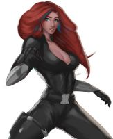 Black Widow by iamHikari-kun
