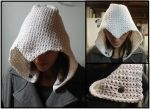 Assassin's Creed Hood Attachment - White by RebelATS