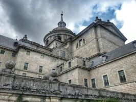 El Escorial, basilica by LordNeo27