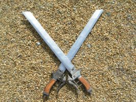 3d gear swords by faustus70