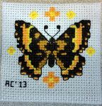Cross-Stitch Butterfly by ChaosSun1976