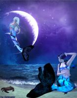 Sirens of the Sea by faegatekeeper