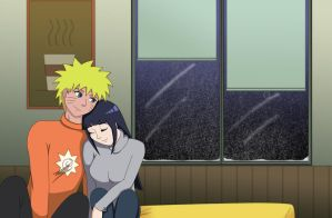 Baby it's cold outside - Naruhina by Lona818
