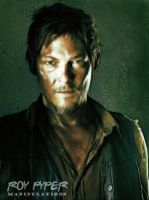 The Walking Dead: Daryl: Fractalius (Ver.3) by nerdboy69
