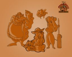 Chip 'n' Dale RR Colab by DREWELBI