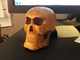 Cherry Skull Shifter Knob - for sale by jbensch