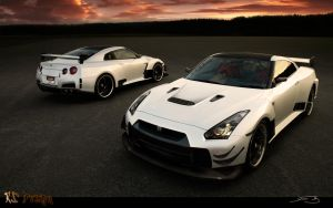 Nissan GT-R 2 versions by RS--Design
