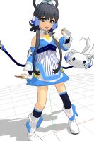 MMD Luo Tianyi WIP 4 by Pikadude31451
