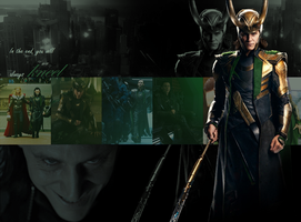Loki wallpaper by Sketchevrywir