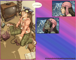 Runaways Molly Hayes Wallpaper by ChibiAngel86