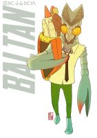Baltan Kaiju by ultrachicken