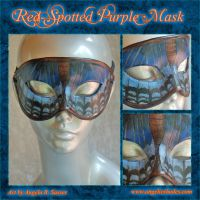 Red Spotted Purple Mask by Angelic-Artisan