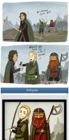 LOTR-on-Instagram by NatsuXIII