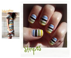 Inspired Stripes by Flagelle