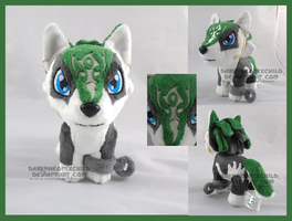 Mini Wolf Link V2 by darkpheonixchild