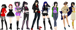 .:COLLAB: DONE:. My obsession by doris4u