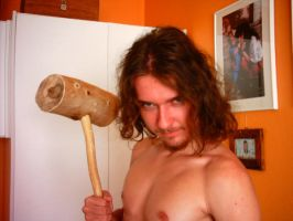 I with my hammer by Toxs1n