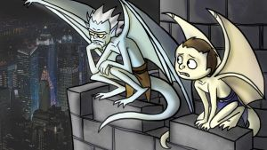 Rick And Morty Gargoyles by jameson9101322