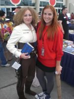 Amy Pond + River Song by OPlover