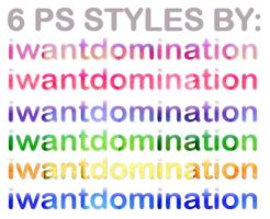 PS Styles Set 4 by iwantdomination