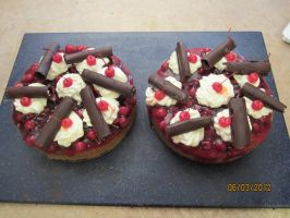 Black Forest Cheesecake by AbsolutelyFascinated